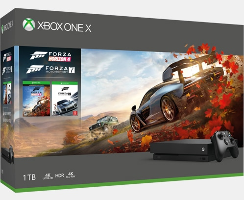 Xbox One X 1TB Console ? Forza Horizon 4 Bundle