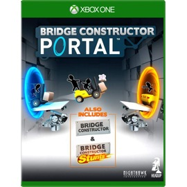 Cover of Bridge Constructor Portal for Xbox One