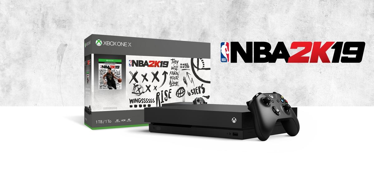 Xbox One X NBA 2K19 Bundle (1TB) – Xbox One
