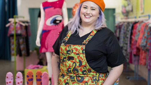 Meet Fashion Designer, Hayley Elsaesser