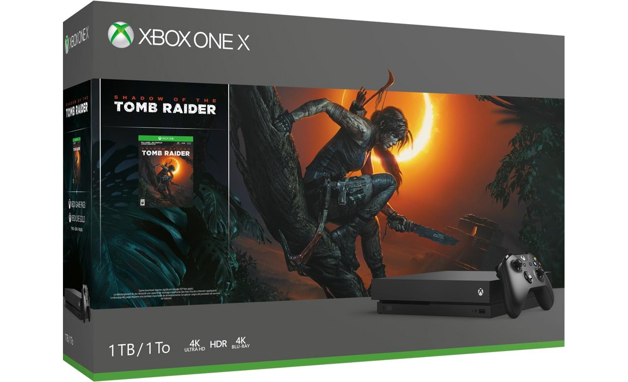 Xbox One X Shadow of the Tomb Raider ゲーム同梱版