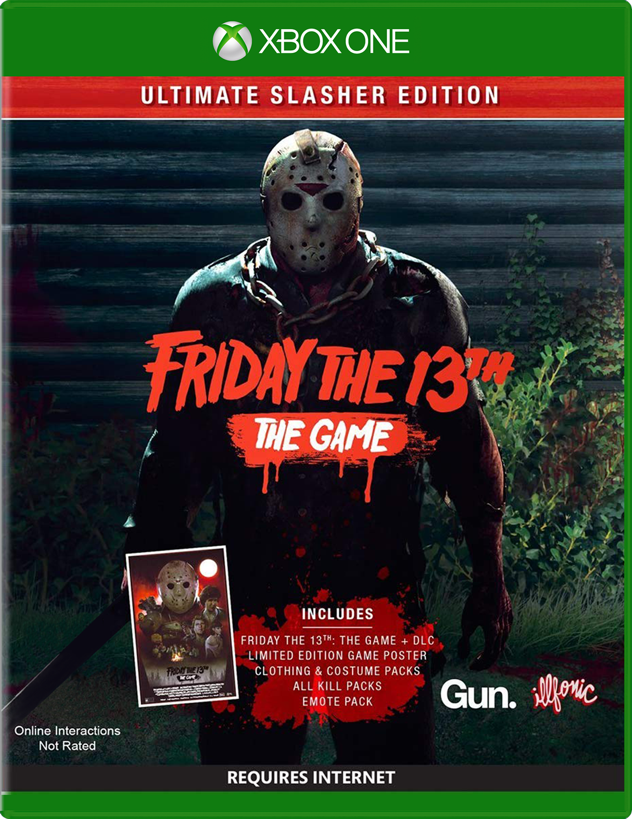 U&I Entertainment Friday The 13th: The Game Ultimate Slasher Edition Xbox One