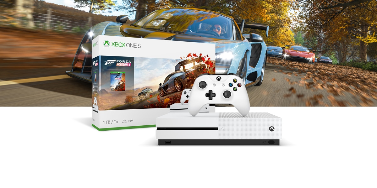 Xbox One S Forza Horizon 4 同梱版