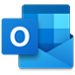 Outlook logo, the Outlook home page