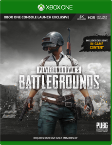 PLAYERUNKNOWN'S BATTLEGROUNDS - Full Product Release for Xbox One