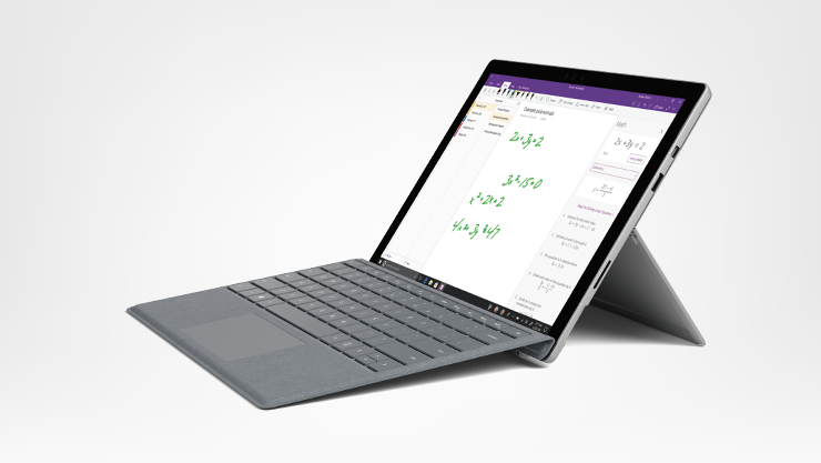 Surface Pro + Type cover