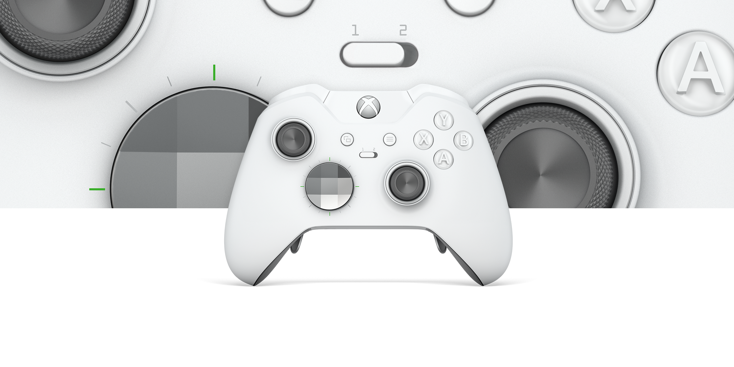 Mando inalámbrico Xbox Elite - White Special Edition
