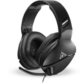 Turtle Beach Atlas One Headset facing left with flip-up mic