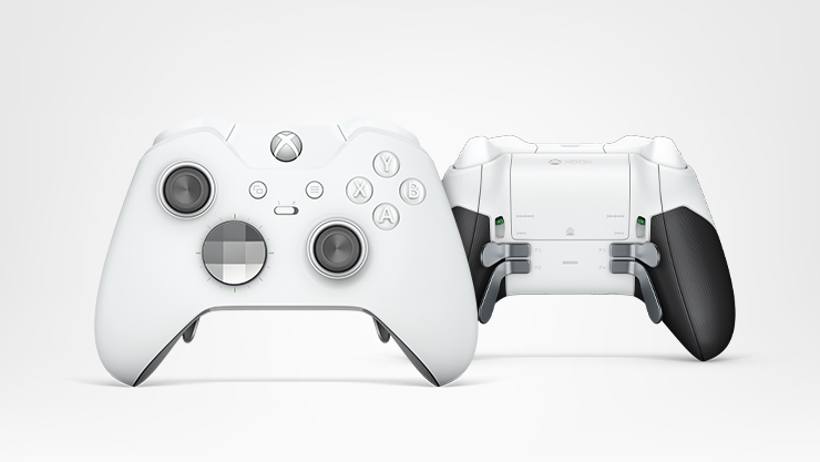 Manette Xbox One Elite - White Special Edition