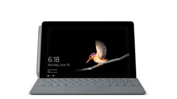 Geräte-Rendering eines Surface Go mit einem Surface Go Type Cover