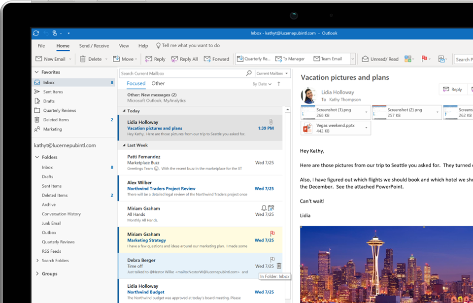 How to set up office 365 email on outlook 2020