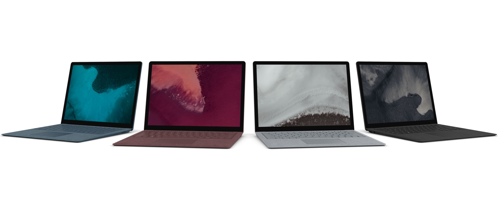 Full color line-up for Surface Laptop 2