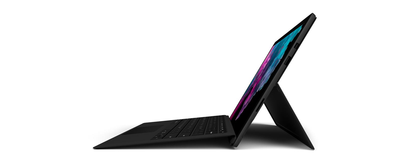 Vista lateral de Surface Pro 6