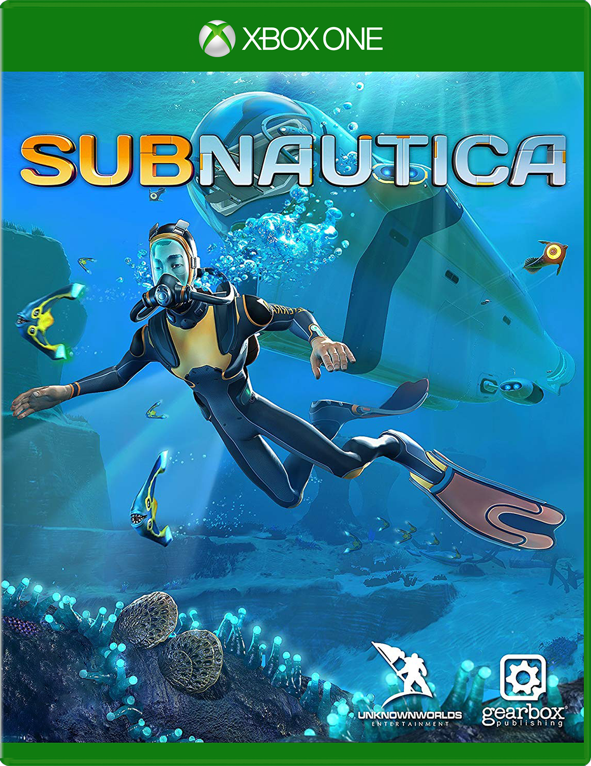 Cover of Subnautica for Xbox One