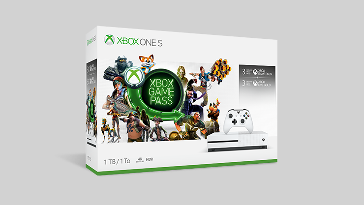 Xbox One S 1 TB Console – Starter Bundle