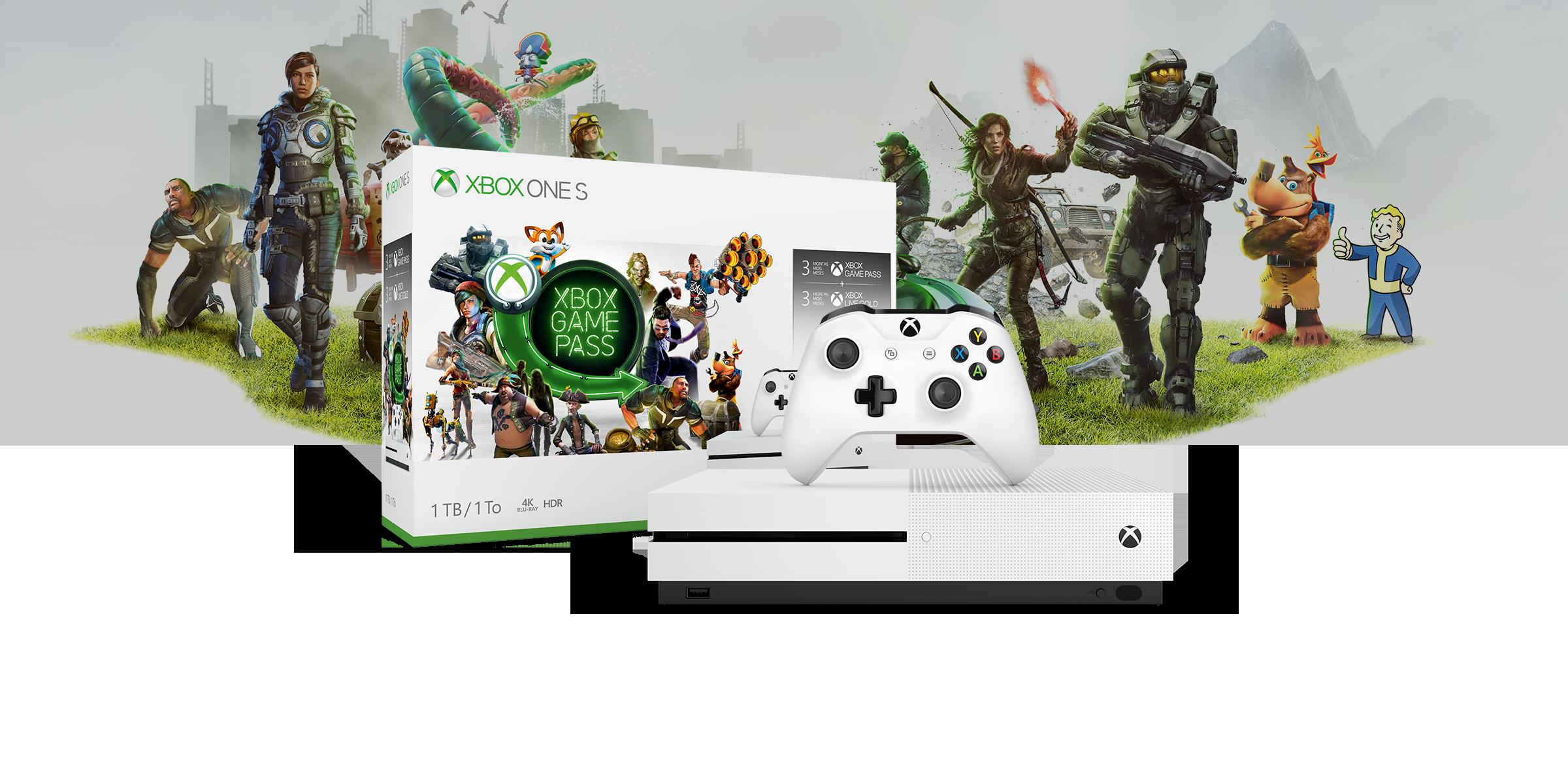 Xbox One S-Starter-Paket