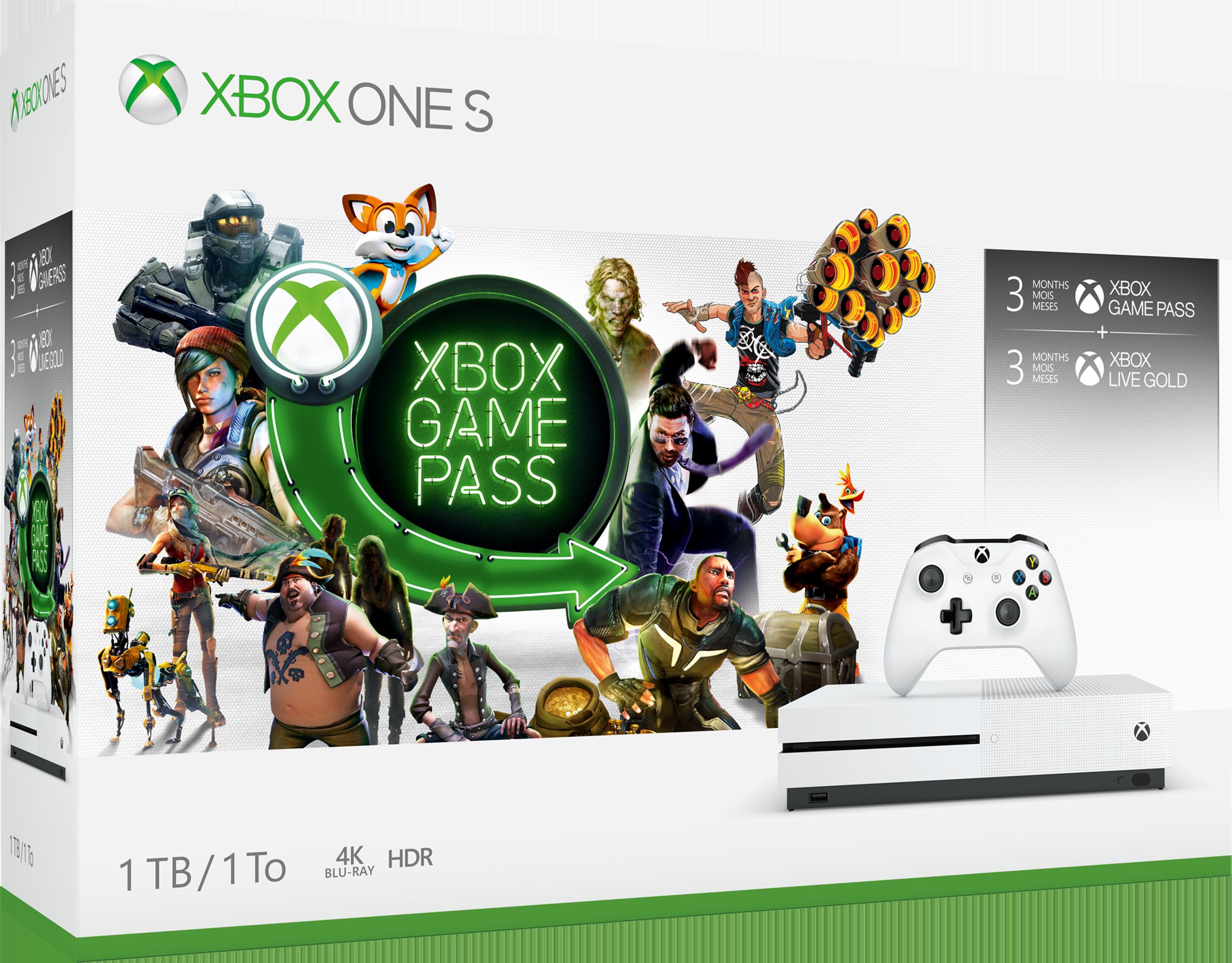 Xbox One S Starter bundle 1TB box art