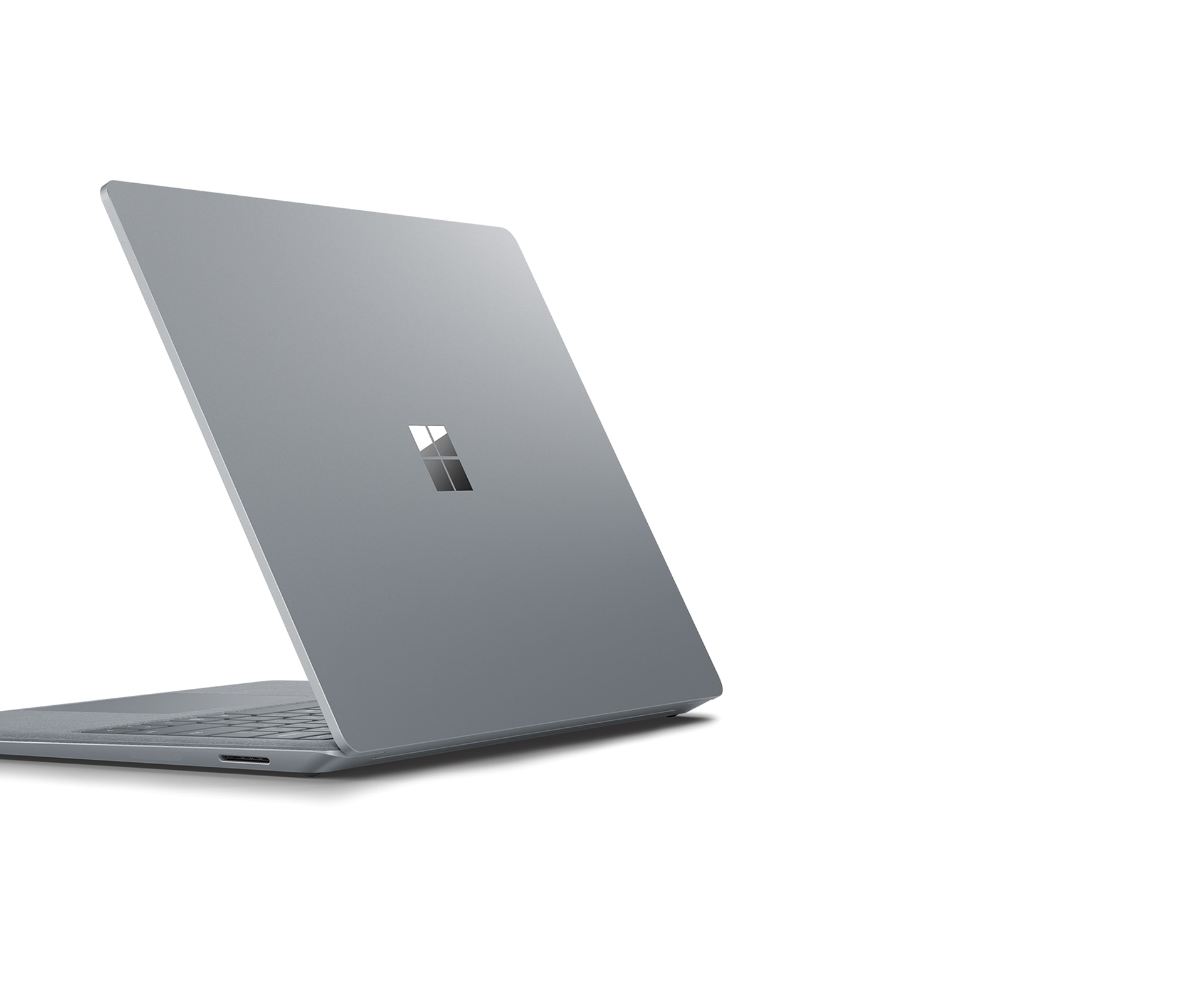 Surface Laptop 2 left-rear angle view