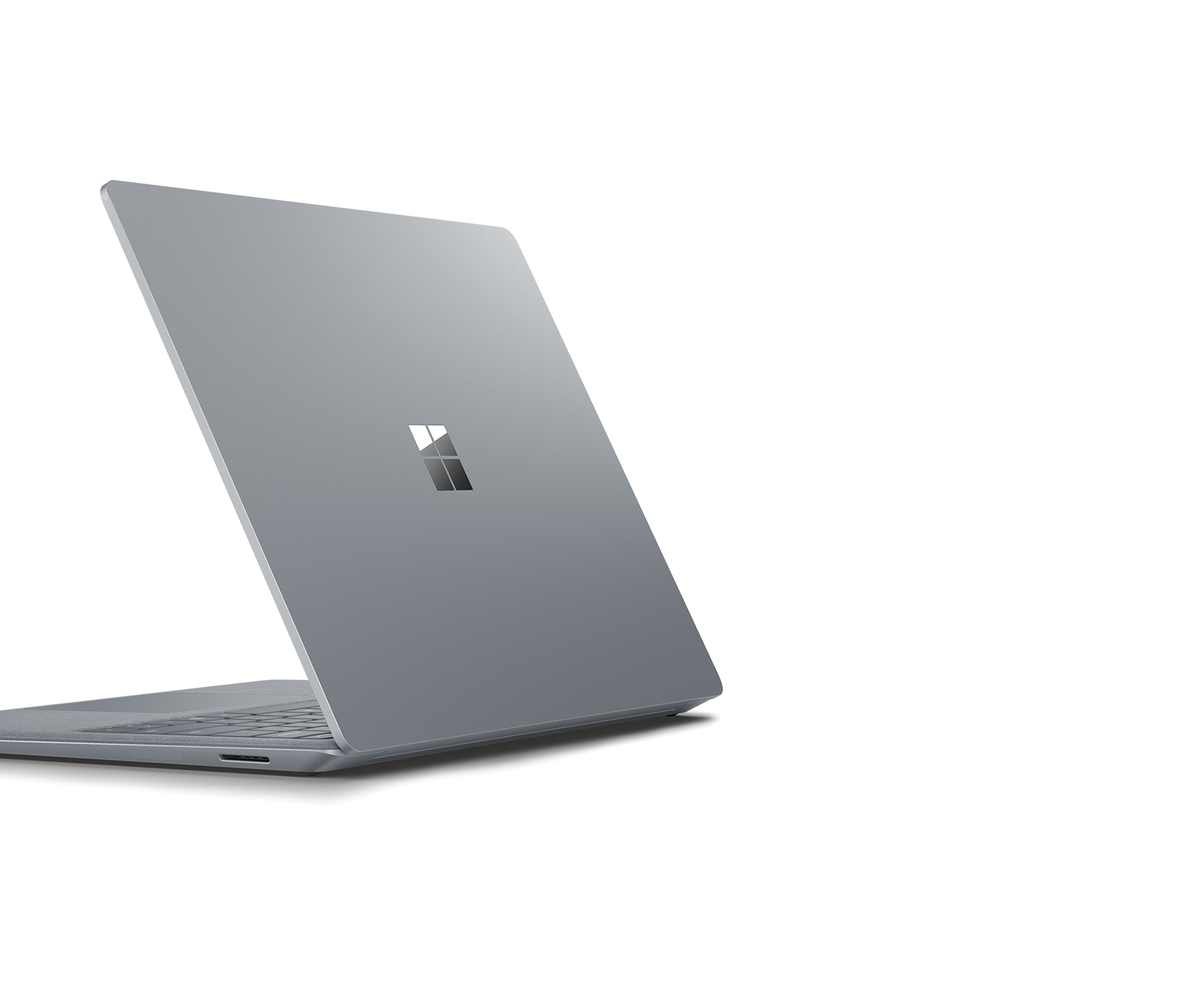 Surface Laptop 2 vasemmasta takakulmasta