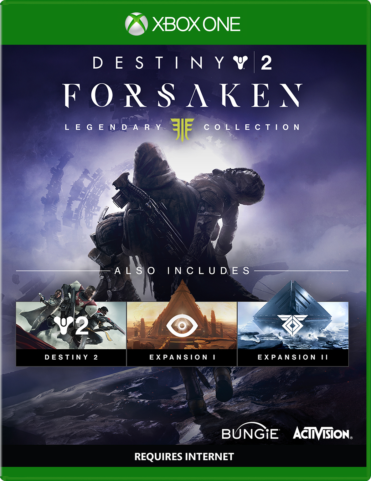 Cover of Destiny 2: Forsaken-Legendary Collection for Xbox One