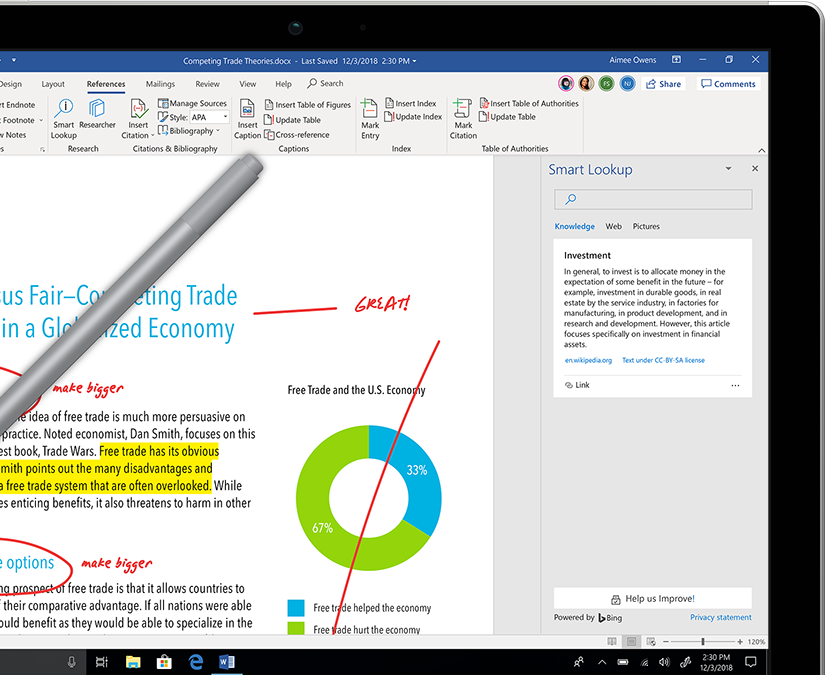 what is the cost of Microsoft Word 2010 for students