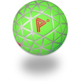 Front view of the Play Impossible Gameball - Green