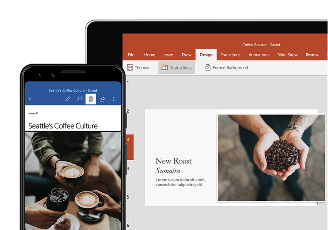 Office 365 Android Apps: Word, Excel, PowerPoint Mobile Apps