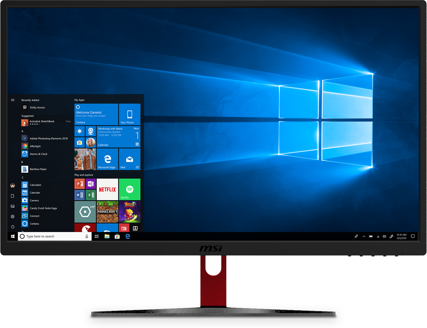 Buy MSI Optix G24C 24'' Monitor - Microsoft Store