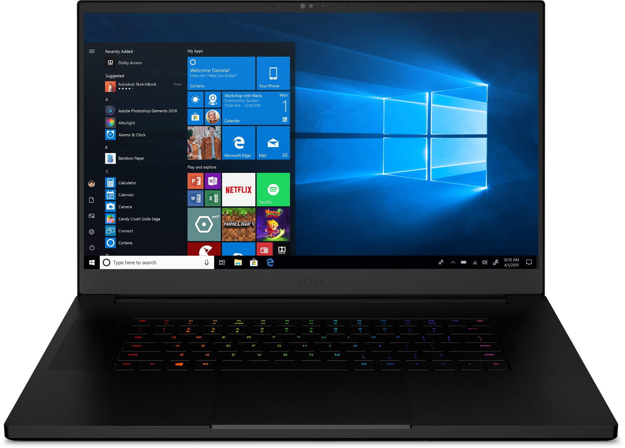 Buy Razer Blade Pro 17 Gaming Laptop 2019 - Intel Core i7
