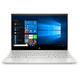 Front view of the HP Envy 13 inch laptop