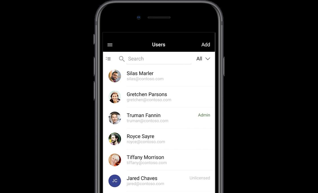 Download the Microsoft 365 Admin app