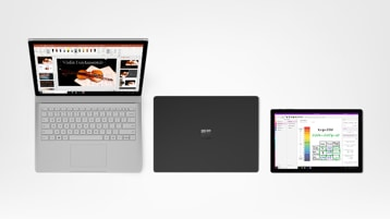 Surface Book 2, Surface Laptop 2, Surface Pro 6