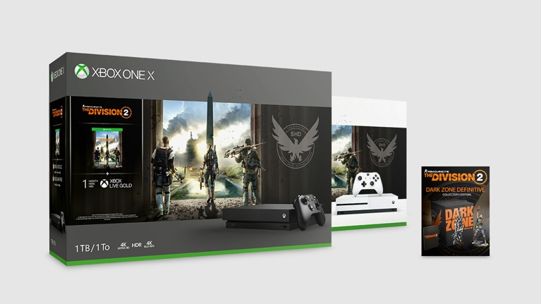 Xbox Gaming Consoles: Xbox One X, Xbox One S, Gaming