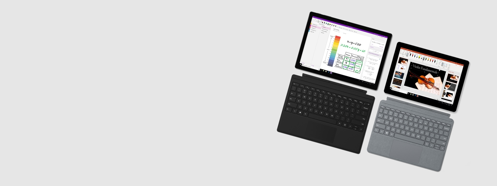 Surface Go y Surface Pro 6
