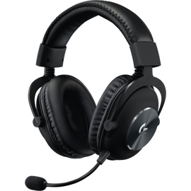 Front right view of the Logitech PRO X Gaming Headset