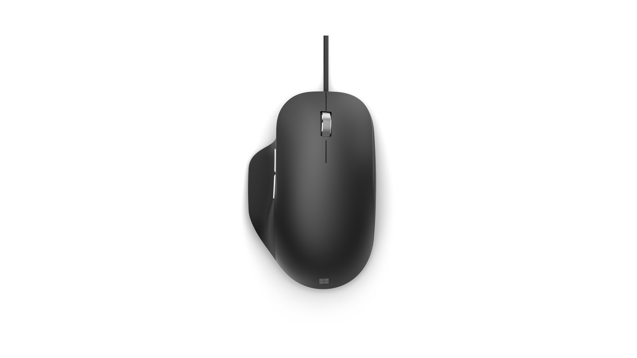 Microsoft Ergonomic Mouse top view