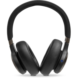 Front view of JBL LIVE 650BTNC Wireless Headphones