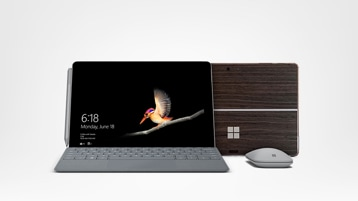 Surface Go, Toast skin and accessories