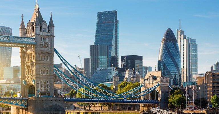 City Scape of London
