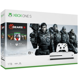 Xbox One S Gears 5 バンドル ボックス アート
