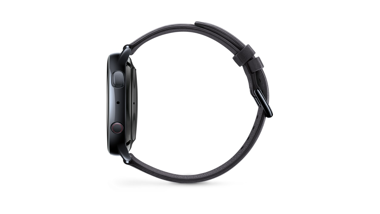 Galaxy Watch Active 2 40mm black left side