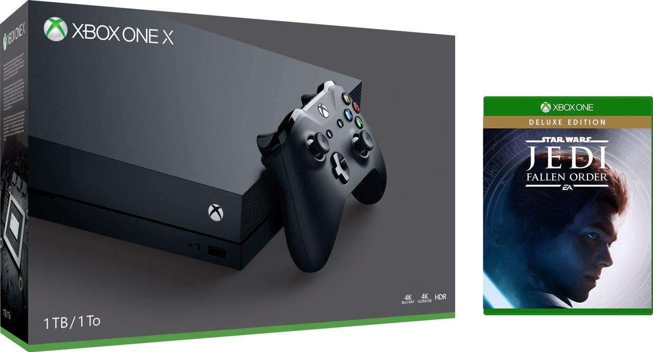 Xbox One X 1 TB Console – Star Wars Jedi: Fallen Order™ Bundle