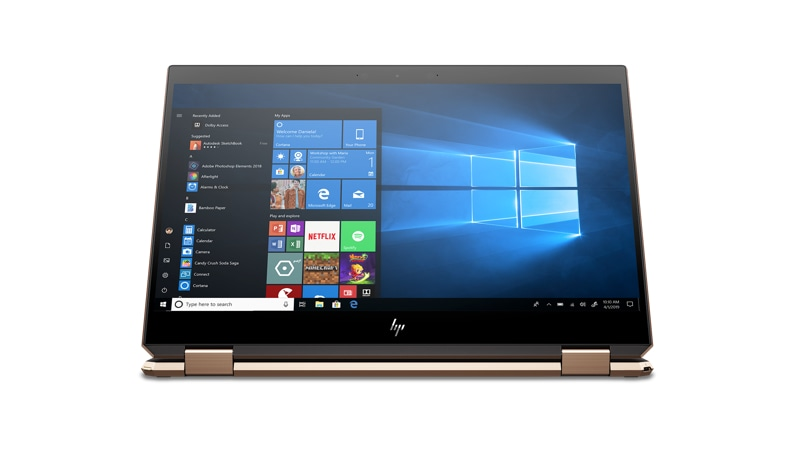 HP Spectre x360 Convertible converted
