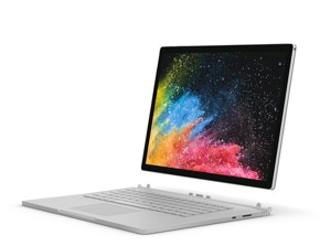 render of Surface Book 2 with detached tablet display