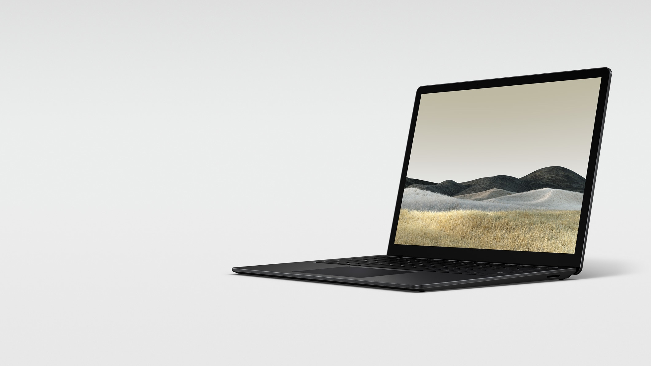 13,5-tuumainen mattamusta Surface Laptop 3