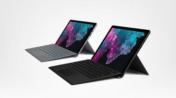 Zwei Surface Pro 6