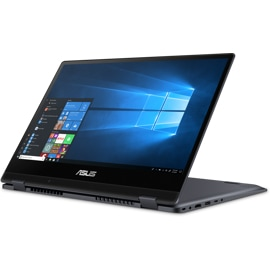 Front right-hand view of the Asus Vivobook Flip TP412