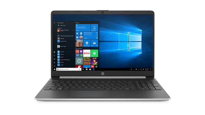 Front view of HP Laptop 15 dy1751ms i5