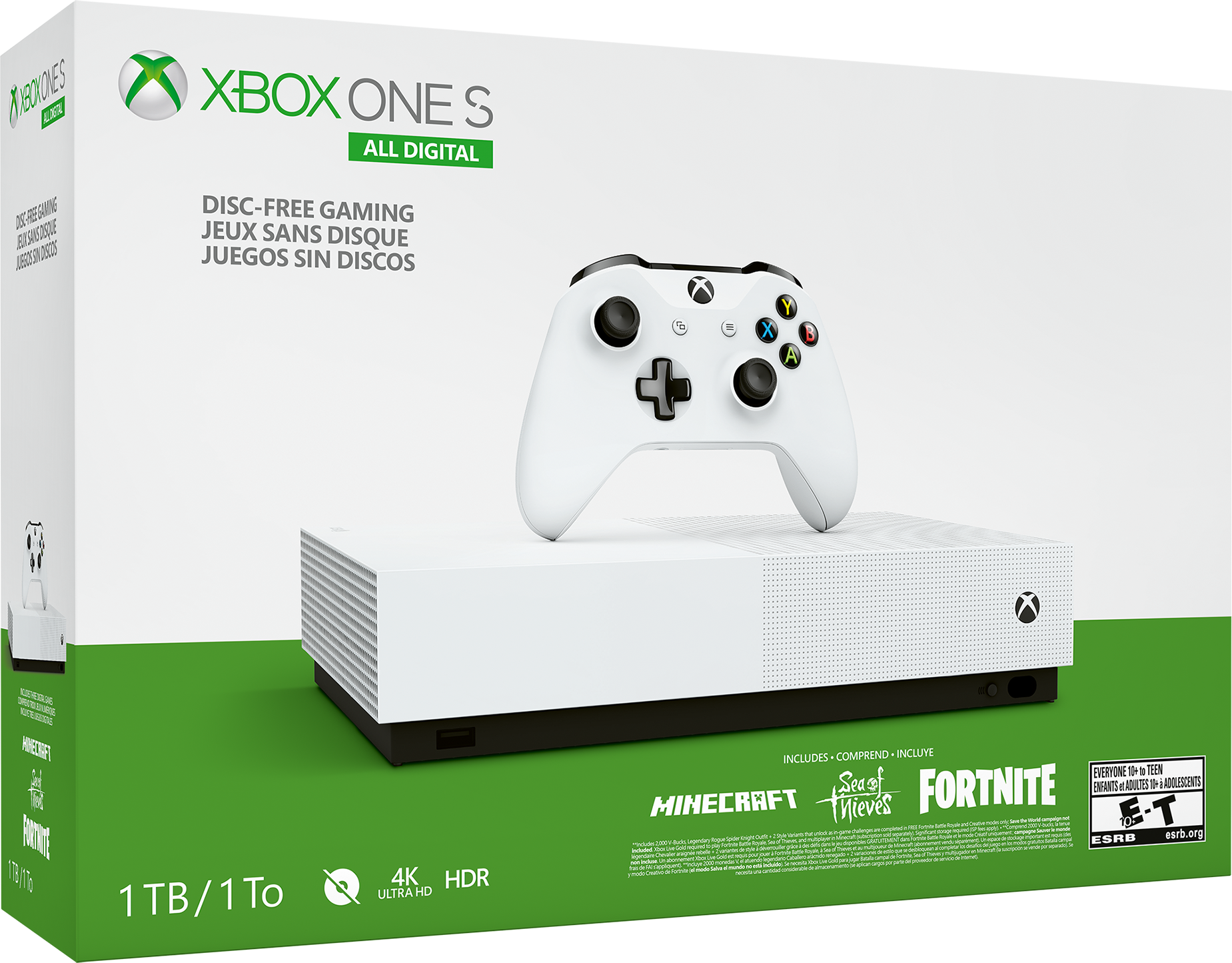 The New Xbox One S All Digital Edition