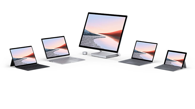 A family of Surface devices